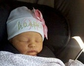 ONE Personalized Infant Beanie Hat