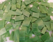 Mosaic Tile LIME SWIRL 100 pcs Tiles Stained Glass Mosaic Tile NICE Sizes