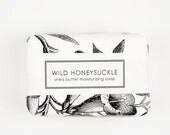 Shea Butter Soap- Wild Honeysuckle - Handmade Soap - Scented Soap - Spring Soap - Vegan Soap - Artisan Soap