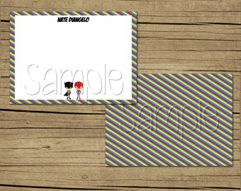 25 4x5 Superhero Thank You Cards