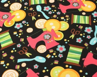 Sew Fine Fabric By Blank - 1/2 yard - Cotton Fabric / Fabric by Yard / New Fabric / Sewing Supplies / Quilting - LAST PIECE!