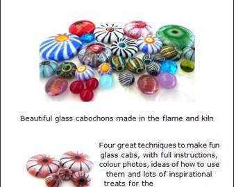 Bubbles, Urchins and Carousels .. lampwork tutorial eBook .. UK SRA