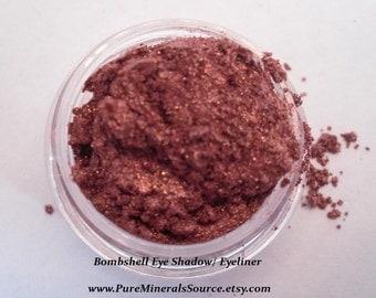 Bombshell Eye Shadow, Eyeliner, Vegan, Chemical Free, Gluten Free Mineral Makeup