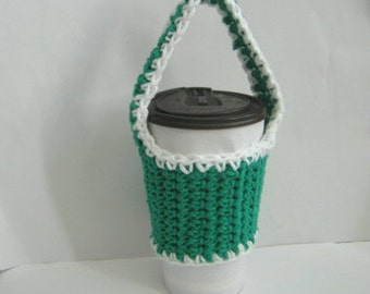 Bike Cup Holder Cup Cozy Cup Sleeve Cup Sling Cozy Carrying Handle Kelly Gren