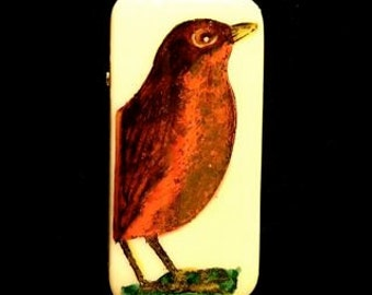 Robin Brooch Pin
