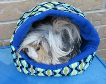 Guinea Pig Plush Igloo AND Cavy Couch PATTERN - make your own