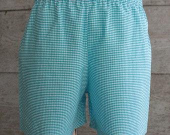 Gingham Shorts