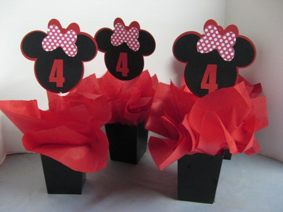 Minnie Mouse birthday decorations 3 in this listing by Creative ...