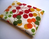 Cherries - Red Yellow Green - Macbook 11 Inch Air - Sleeve, Bag, Cover - Padded and Zipper Closure