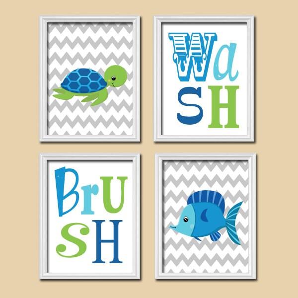 Wall Art For Childrens Bathroom : Nautical boy wall art canvas or prints nursery child by