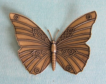 XLarge Brass Butterfly 2430B