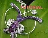 WIRE JEWELRY TUTORIAL - Wire Wrapped Butterfly Pendant