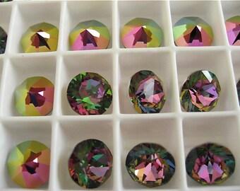 6 Crystal Electra Swarovski Crystal Chaton Stone 1088 39ss 8mm