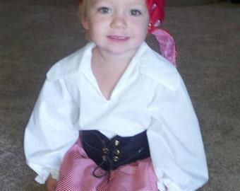 Argg, Pirate Costume,Girl,