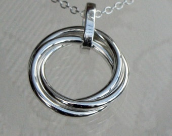 Russian Sterling Silver Pendant
