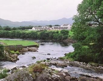 Ireland Photography, Irish Print, Sneem  Irish Town, Art Print Ring of Kerry, Landscape Photo,  Fine Art Photo, Wall Decor, Irish Decor