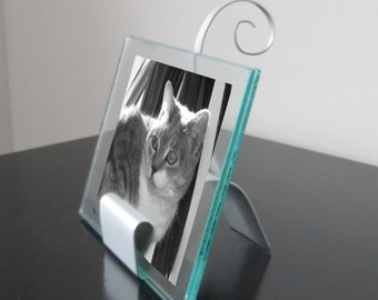 Abstract Cat Sculpture 5x7 Picture Frame