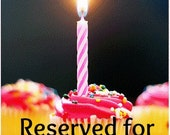 Reserved Listing for Marissa B.