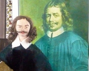 John Bunyan Doll Author of The Pilgrim's Progress Historical Art Collectible