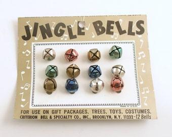 Vintage Jingle Bells Original Card