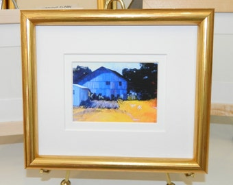 aceo frames gold wood frame with double mat and glass