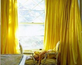 items similar to taffeta drapes you pick the color 50 x 84 lined on etsy. Black Bedroom Furniture Sets. Home Design Ideas