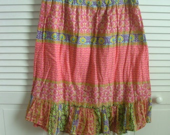 gauzy vintage  skirt