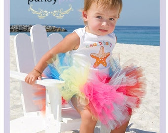 Summer Tutu Baby Tutu Outfit Toddler Skirt 9 12 18 24 Months