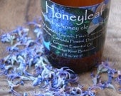 Honeyleaf fresh herb and honey cleanser with Rosemary and Geranium 2 oz.