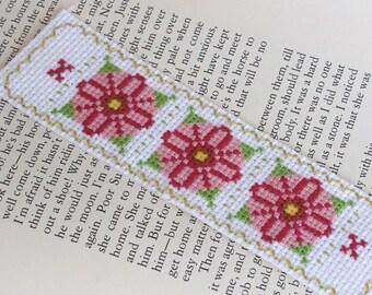 Bookmark (Pink Flowers)