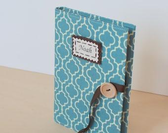 personalized brag book photo album in Robert Kaufman metro living grandmas book