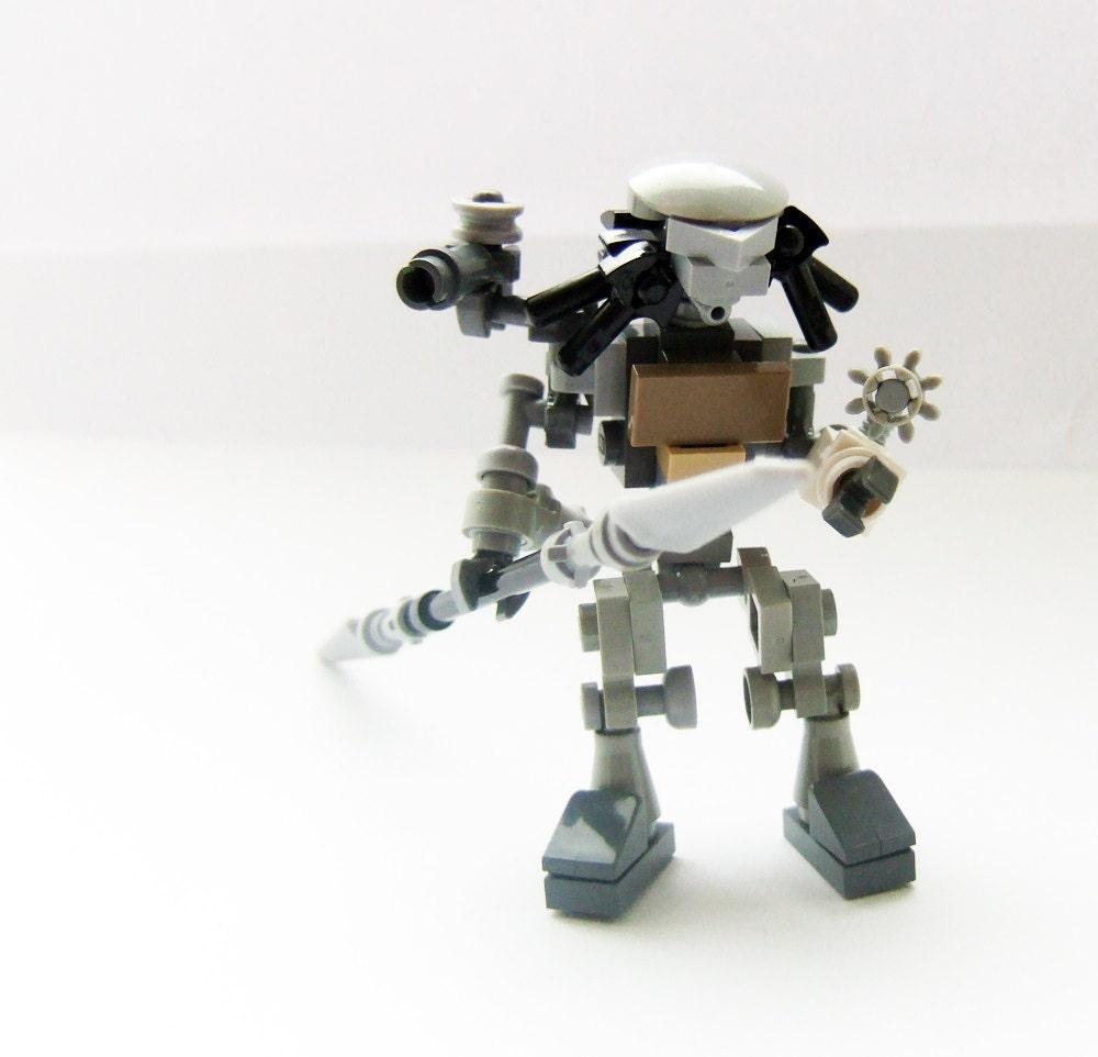 predator custom made lego figure