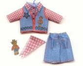 Miniature Kit, Cowboy or Cowgirl Set, 1/12th inch scale