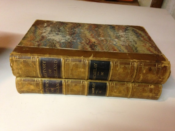 1856 History of England by MacAulay, Vol II and IV