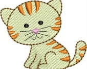 INSTANT DOWNLOAD Mini Kitten embroidery designs