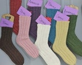 Half OFF Knit Tube Socks One Size Fits All Adults