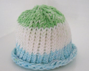 Crochet Doll Hat or Popsicle Beanie Hat Fits 18 inch doll