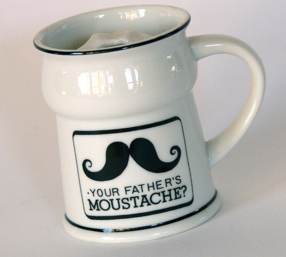 moustache mug your father u0026 39 s moustache cup