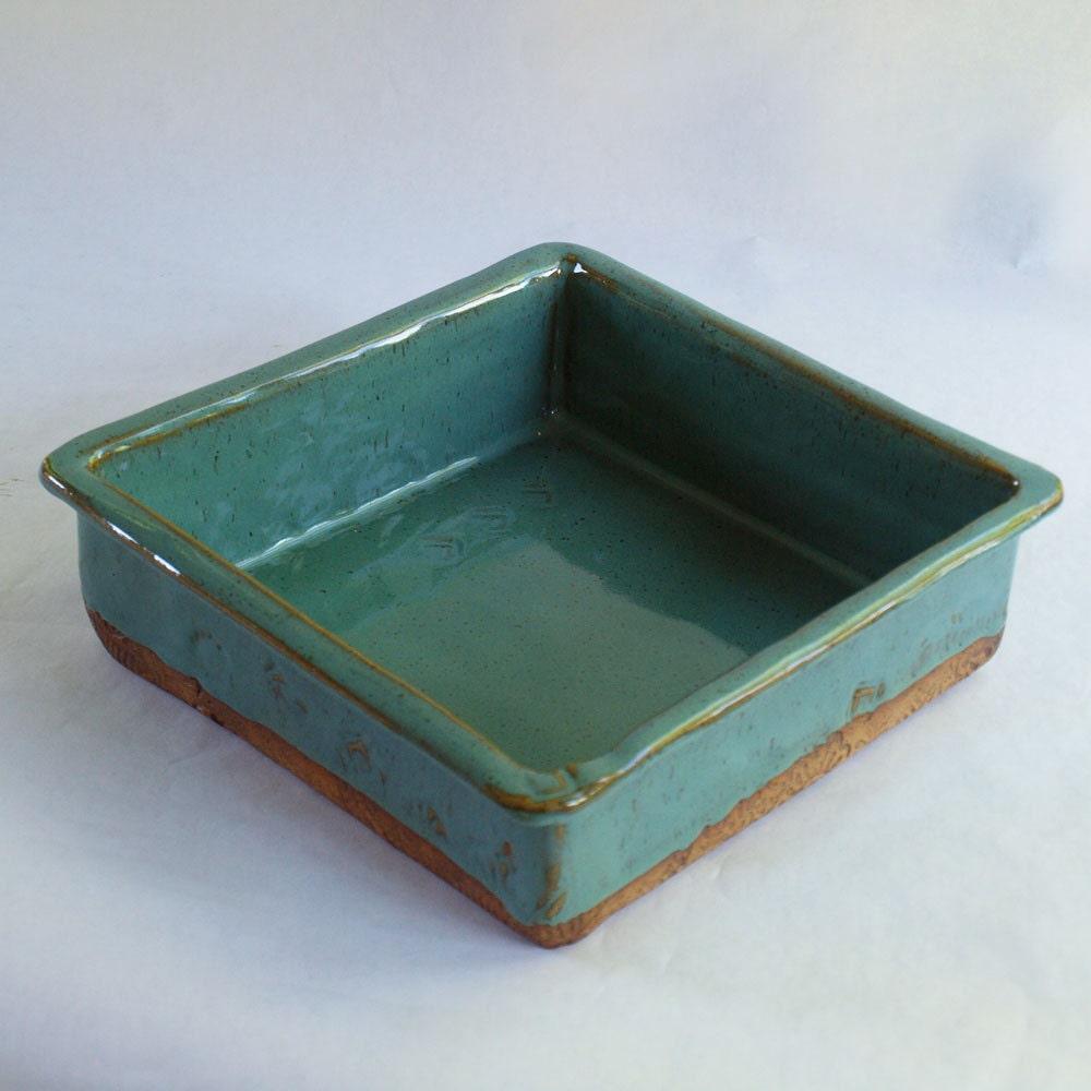 Ceramic Stoneware Baking : Pottery baking dish handmade stoneware