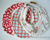 THE ORIGINAL Little Drooler Bibs - Any 3 - You Choose from 64 Fabrics