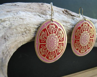 Vintage Metal Earrings