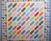 CIRCUS PEANUTS Made to Order Vintage Quilt from Quilts by Elena