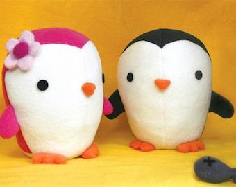 1 Penguin plush Ready made