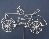 LOVELY LIZZIE: Ford Model T Car Wedding Cake Topper