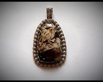 Petrified Wood Pendent