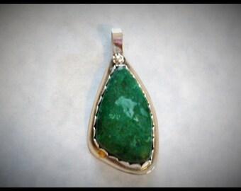 Green Amazonite Pendant