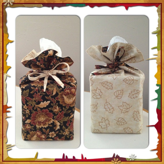 Sewing Pattern Reversible Tissue Box Cover Pdf Download