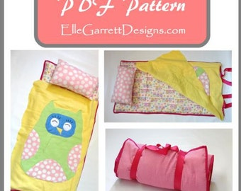PDF Pattern - Owl Nap Mat Pattern