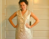 Silver Space Age Judy Jetson sixties dress