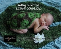 Lily Pad Photo Prop Knitting Pattern for Newborn Photography, PDF Number 113, INSTANT DOWNLOAD -- Over 35,000 patterns sold